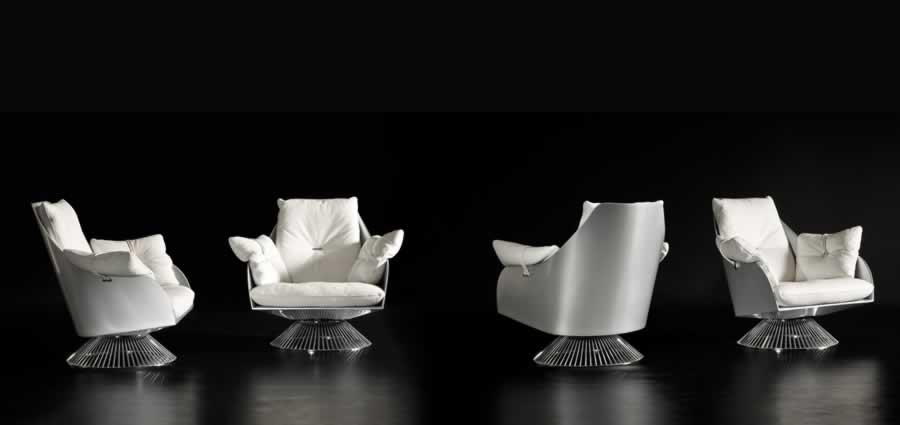 Gamma Gloss Armchair