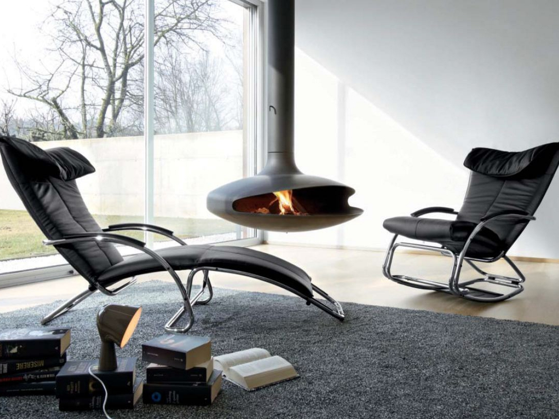Elegant Swing Lounge Chair, Bonaldo Italy. Previous Next