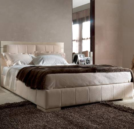 Genesis Upholstered Bed, Turri Italy