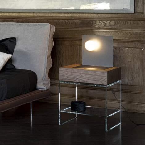 Light Bedside Table, Cierre Italy