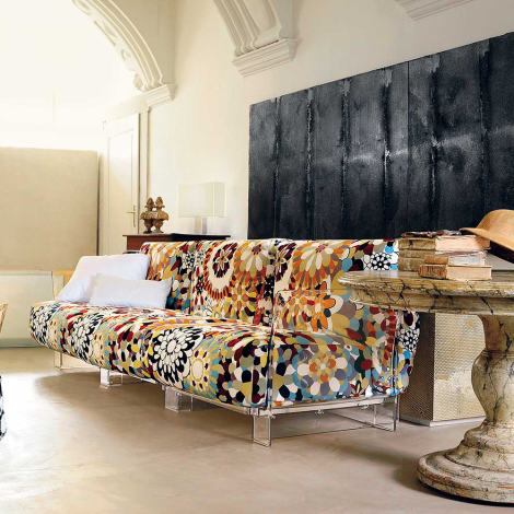 Pop Missoni Sofa, Kartell Italy