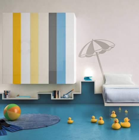 N.O.W. Weightless Wardrobe for the Children's Room, Lago Italy
