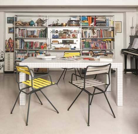 Dan 2057 - 2058 Chairs, Zanotta