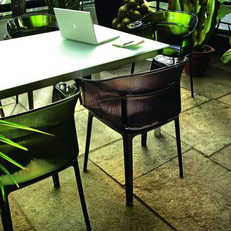 Papyrus Chair (2 pieces), Kartell Italy