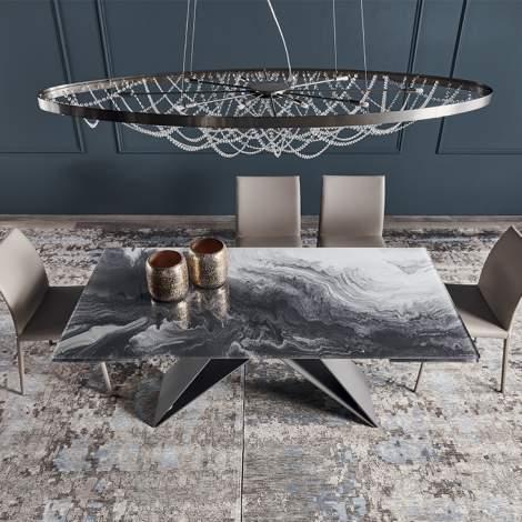 Premier Crystalart Drive Table, cattelan Italia