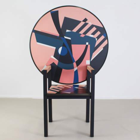 ZabroTable-chair, Zanotta