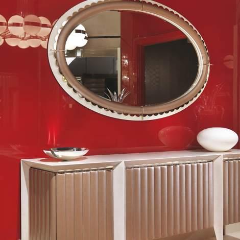 Orion Oval Mirror, Turri Italy