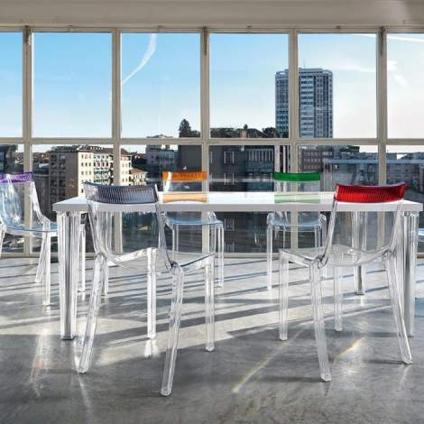 Hi-Cut Chair (2 pieces), Kartell Italy