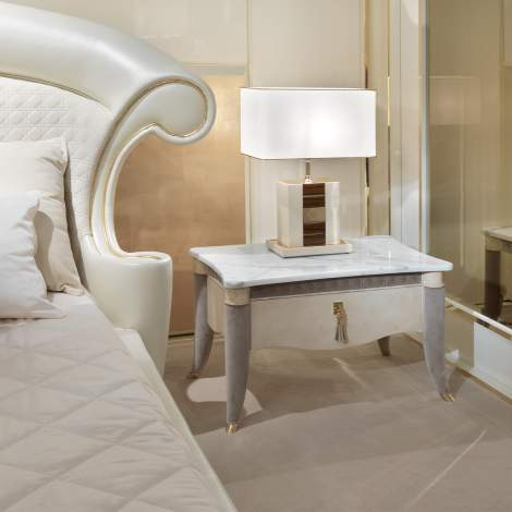 Caractere Bedside Table, Turri Italy