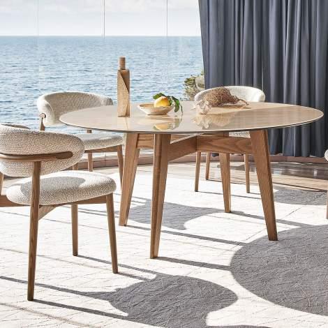 CS/4127-FD Abrey Dining Table, Calligaris Italy