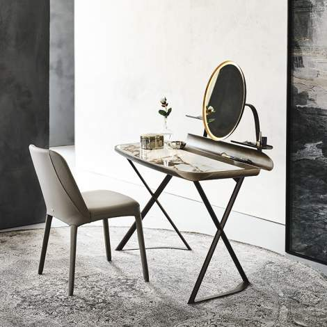 Cocoon Trousse Keramik Desk, Cattelan Italia