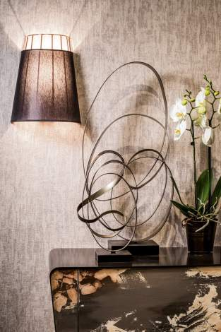 Sofia Wall Lamp, Cantori Italy
