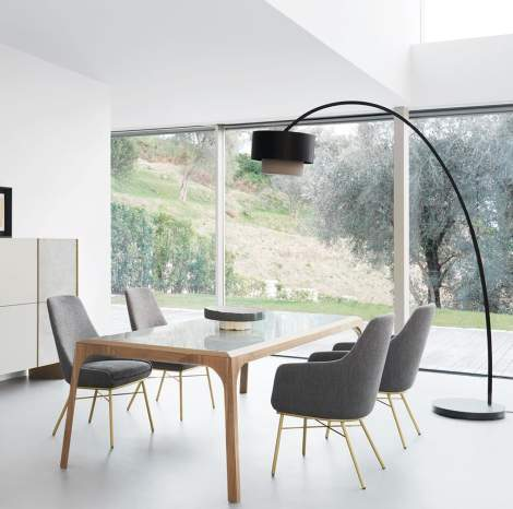 Releve Dining Table, Presotto Italy