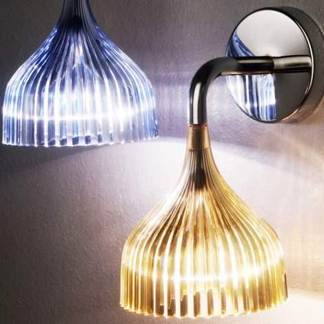 E' Applique Wall Lamp, Kartell Italy