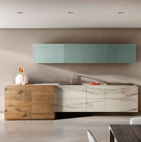 36e8 Marble XGlass Kitchen, Lago Italy