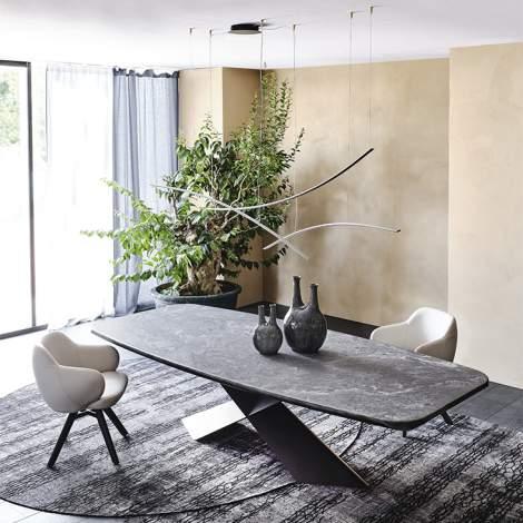 Tyron Keramik Premium Table, Cattelan Italia