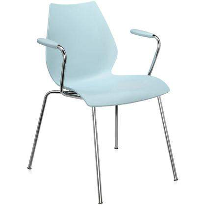 Maui Dining Armchair (2 pieces), Kartell Italy