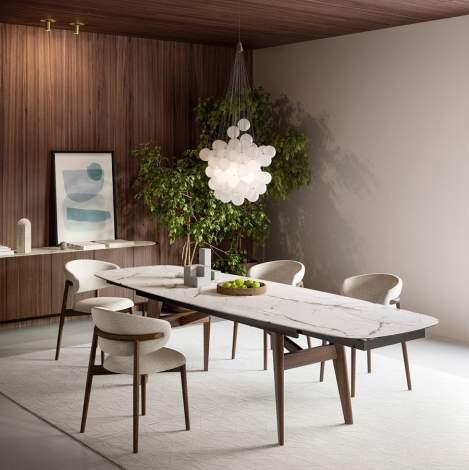 CS/4127-S Abrey Extending Dining Table, Calligaris Italy