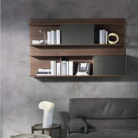 Berchet Wall Bookcase, Pacini & Cappellini Italy
