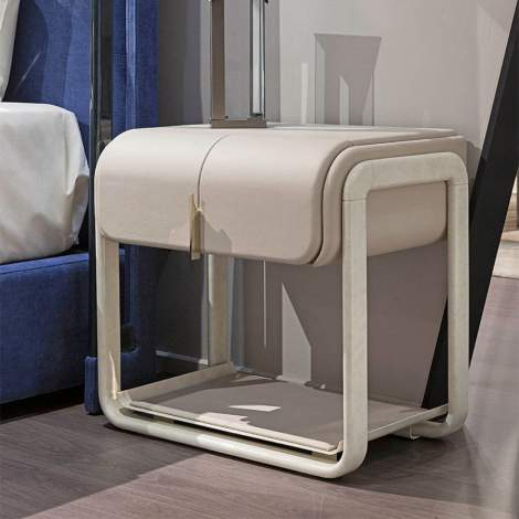 Eclipse Bedside Table, Turri Italy