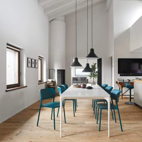 CS/4125-R Silhouette Dining Table, Calligaris Italy