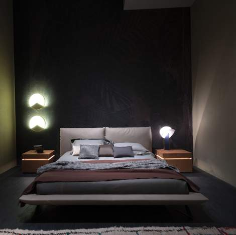 Eden Leather Bed, Cierre Italy