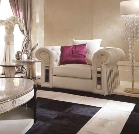 Couture Armchair, Turri Italy