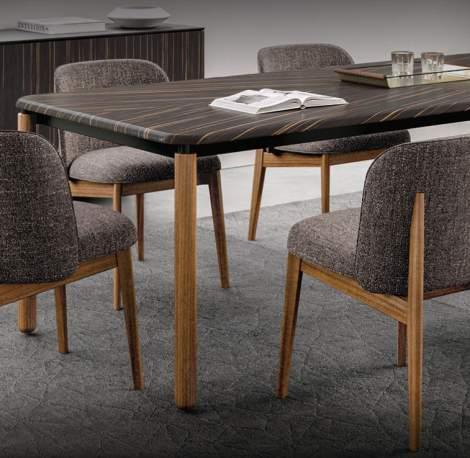 CS/4126-FR Spiga Dining Table, Calligaris Italy