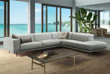 Denny Corner Sectional Sofa, Gamma Arredamenti Italy