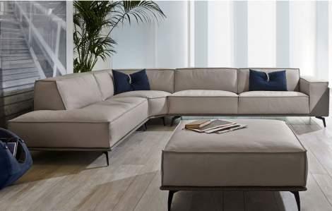 Edwin Corner Sectional Sofa, Gamma Arredamenti Italy