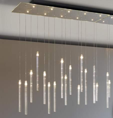 Comete Mirror Glass Ceiling Lamp, Reflex Italy