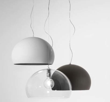 Small Fl/y Ceiling Lamp, Kartell Italy