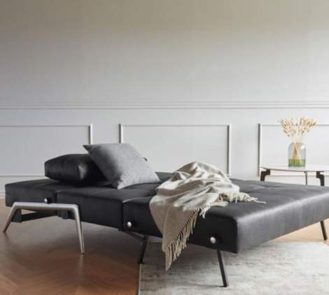 Cubed  Deluxe Sleeper Sofa with Alu Legs, Innovation