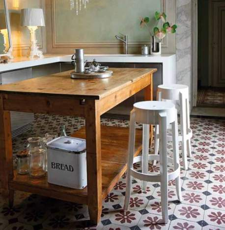 Charles Ghost Stool (2 pieces), Kartell Italy