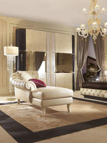 Couture Chaise Longue, Turri Italy