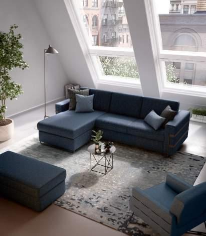 Dorado Sectional Sofa Bed, ROM Belgium
