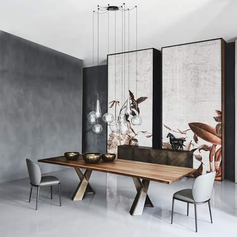 Mad Max Wood Table, Cattelan Italia