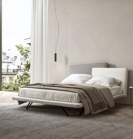 Meeting Dual Upholstered Bed, Presotto Italy