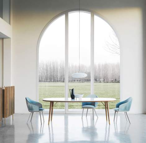 Merge Dining Table, Presotto Italy