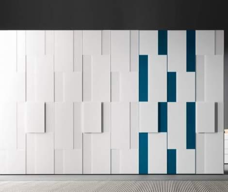 Step Wardrobes With Hinged Door, Presotto Italy