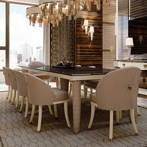 Vogue Rectangular Table, Turri Italy