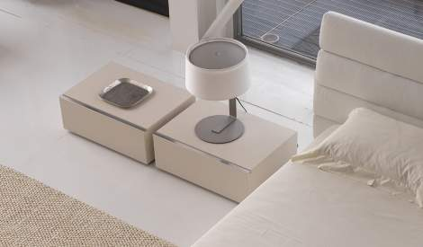 Square Nightstand, Cierre Italy