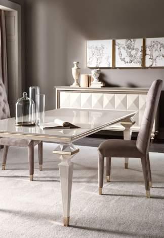 Diamante Dining Table, Cantori Italy