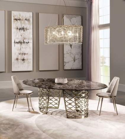 Isidoro Dining Table, Cantori Italy