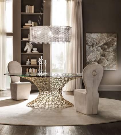 Mondrian Art Form Dining Table, Cantori Italy