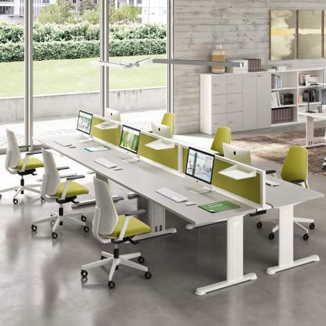 Idea+Jet Office Desk, Quadrifoglio Italy