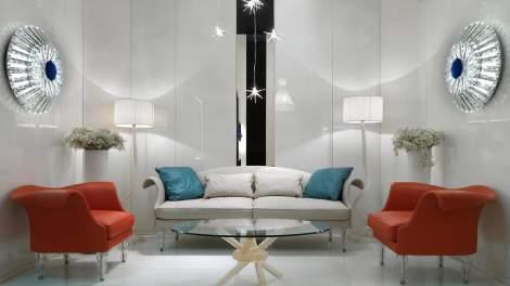 Diamante Wall Lamp, Reflex Italy