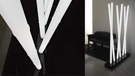 Bamboo Floor Lamp, Reflex Italy