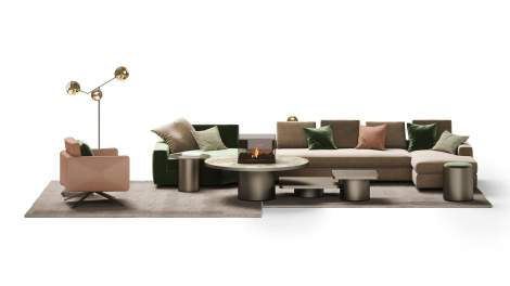 Adone Sectional, Reflex Italy