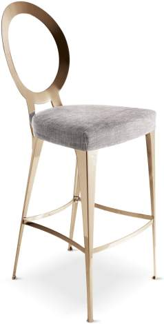 Miss Uncovered Backrest Stool, Cantori Italy
